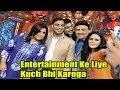 Pakistani Cricketer Shoaib Akhta With Anu Mallik & Farah Khan On Show