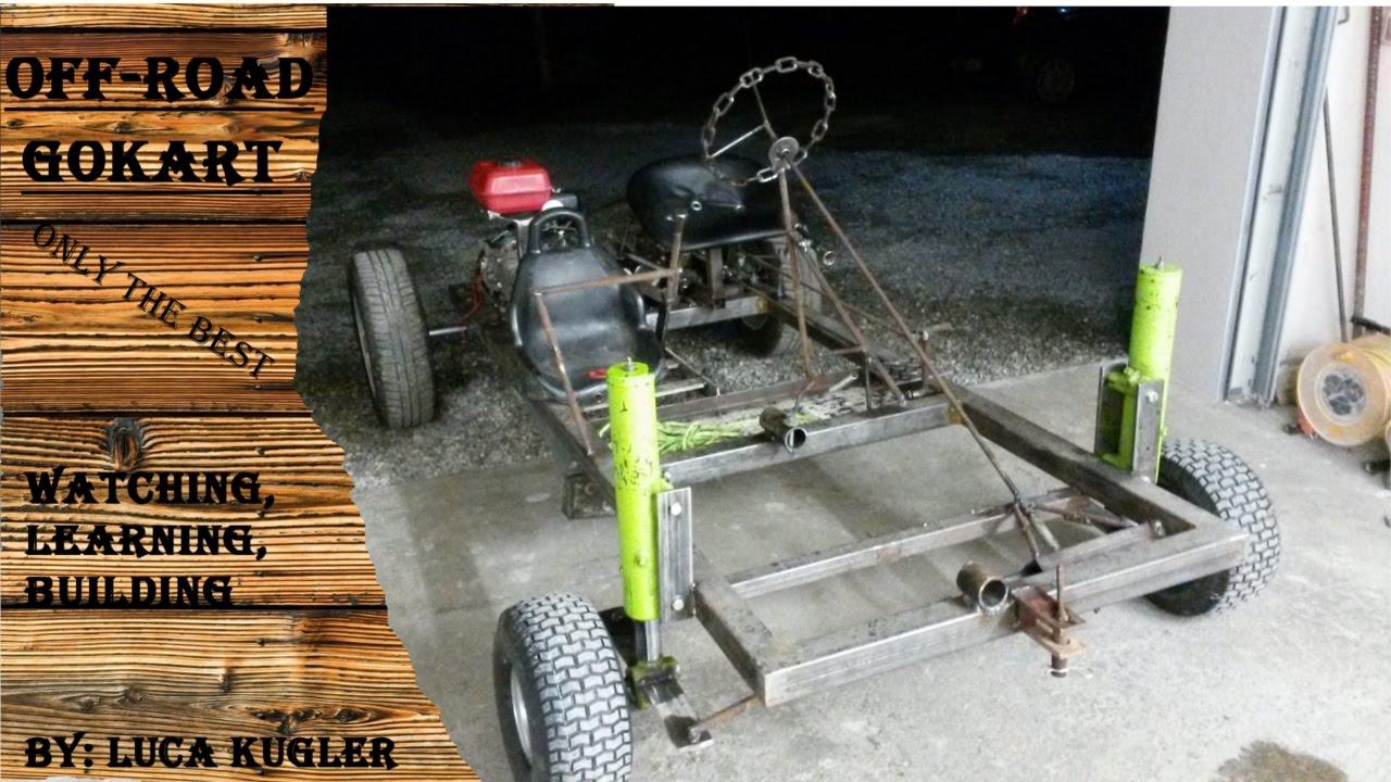 Off-Road Gokart: Rahmenbau, Motor-, Kuplung- und Getriebeinstalation ...