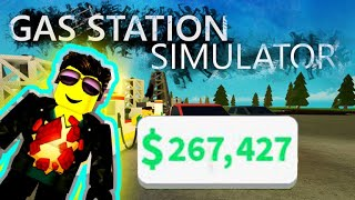 ROBLOX GAS STATION SIMULATOR - How to earn money very fast!