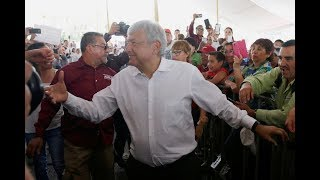 Andres Manuel Lopez Obrador's (AMLO) lead in the presidential race ...
