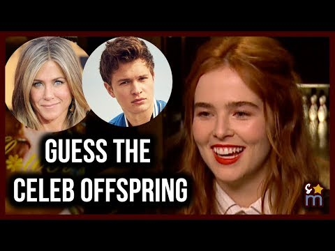 Zoey Deutch Plays Guess the Celebs w Famous Parents w MAX WINKLER  FLOWER Movie