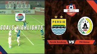 Persib Bandung (1) vs (0) PSS Sleman - Goals Highlights | Shopee Liga 1