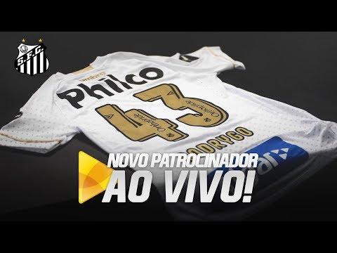 LIVE: CONHEÇA O NOVO PATROCINADOR DO SANTOS