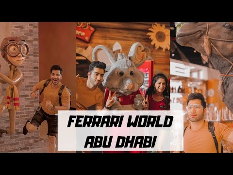 World's Fastest and Dangerous Rides at FERRARI WORLD ABU DHABI || DUBAI || Ashu NB Arora