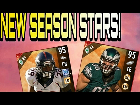 95 OVERALL CORNER BRADLEY ROBY!! NEW SEASON STARS CARDS!! MADDEN 17 ULTIMATE TEAM