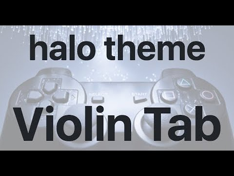 Learn Halo Theme On Violin - How To Play Tutorial
