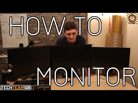 How to set up an Overclockers UK Triple Monitor Stand