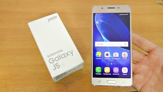 samsung galaxy j5 2016 unboxing setup first look 4k