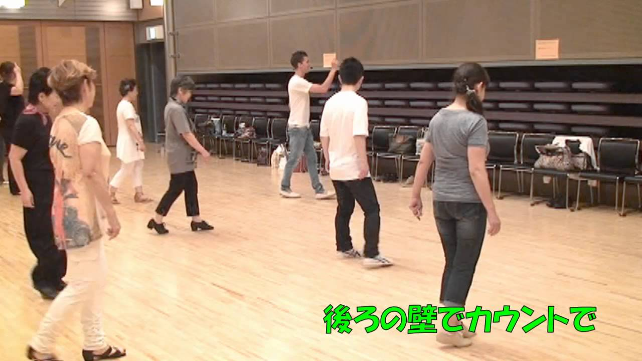 Line Dance Catch & Release choreo'd by Jose Miguel Belloque Vane and Tokyo Ladies - Walkthru