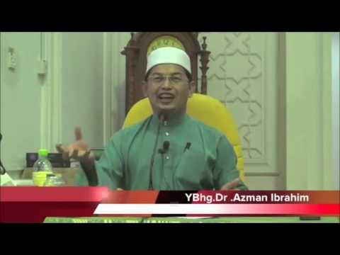 Dr Azman Ibrahim-Kenapa ajak masuk syiah jika kita adalah sama