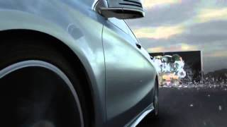 Barriers Mercedes Benz CLA Class Commercial @ Ford dreams