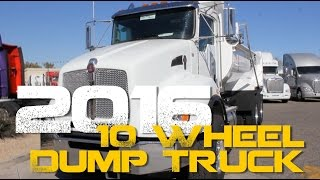 2016 10 Wheel Dump Truck - Inland Kenworth of Phoenix