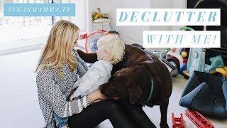 Declutter, Organise & Minimise Your Home With Me! || SugarMamma.TV