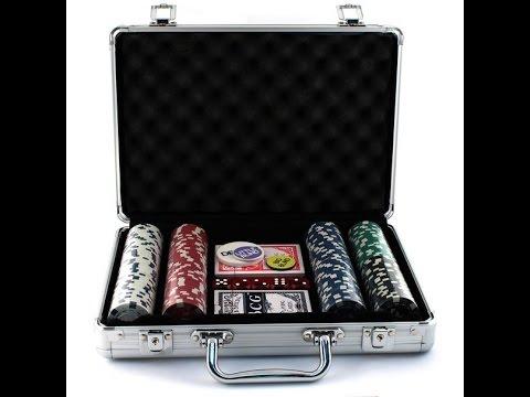 Набор для покера - покерный набор в кейсе