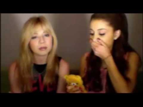 Ariana Grande Gives Out Her Phone Number... AGAIN! (Sam&Cat Livestream 6.5.13)
