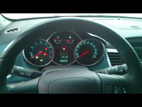 Заводим в мороз -33 Chevrolet Cruze (1.8 MT, 2012г.в)