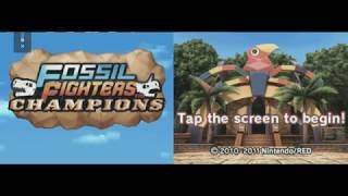 Fossil Fighters Champions AR Codes