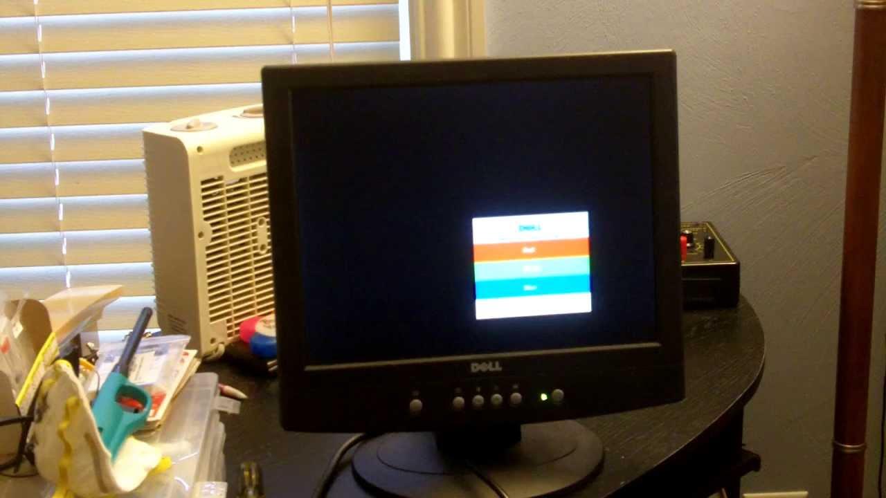 Dell E151FPb 15 inch LCD monitor dissasembly