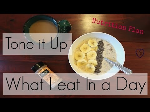 What I Eat In A Day || Tone It Up Nutrition Plan Body Love Challenge