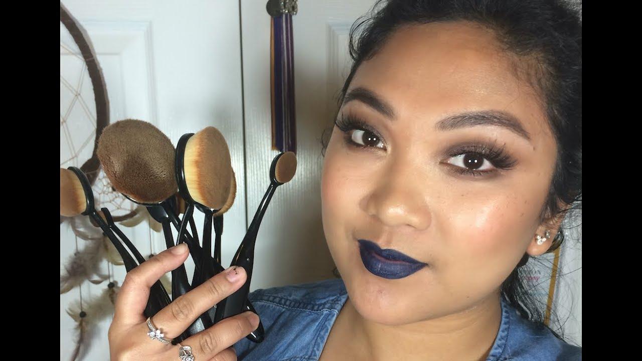 Artis oval toothbrush makeup brush dupe makeupinsfc for Brush craft vs artis