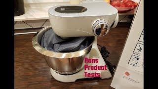 Bosch CreationLine MUM58L20 Küchenmaschine | Backen im Test | Erster Eindruck und Fazit