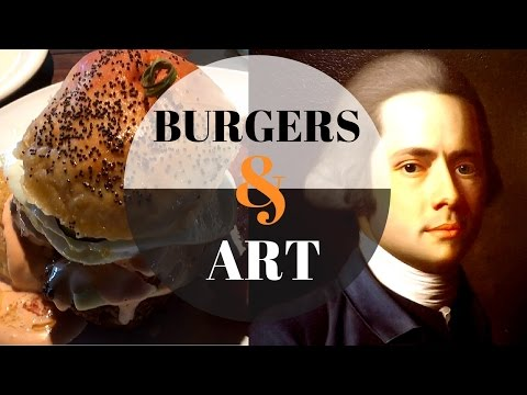 Burgers and Art - FOLC and the San Antonio Museum of Art