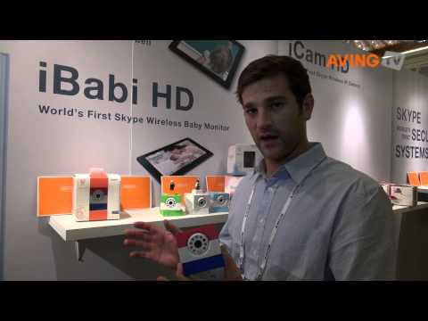 [CES 2014] Wireless IP Camera connected to Skype Technology 'iCam HD'