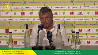 LIVE I FC Nantes - Stade De Reims I Conférence de presse d'après match