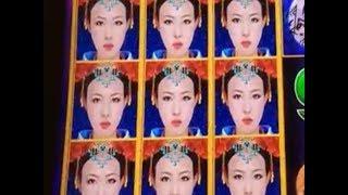 ★SUPER BIG WIN☆DRAGON LINK AUTUMN MOON Slot machine Live play & Bonuses☆彡5 cent Denom 栗スロ kurislot
