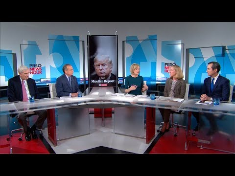 """PBS NewsHour"" Panel: What Barr's Summary Of The Mueller Report Tells Us, And What It Doesn't"