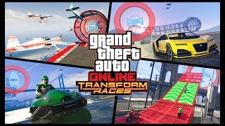 GTA5 ONLNE PS4 #138 НОВЫЙ ВИД ГОНОК – «ТРАНСФОРМАЦИИ» LIVE STREAM HD #GrandTheftAutoV