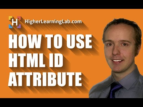 HTML ID Attribute Is Used To Add IDs To HTML Elements So You Can Style Them With CSS