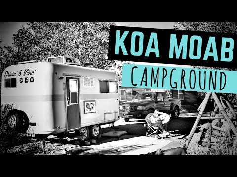 Moab KOA Campground 🚐🇺🇸 Full Time RV Living 😊 Moab, Arches & Canyonlands Camping RV Parks