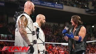 Luke Gallows & Karl Anderson part ways with AJ Styles: Raw, May 23, 2016