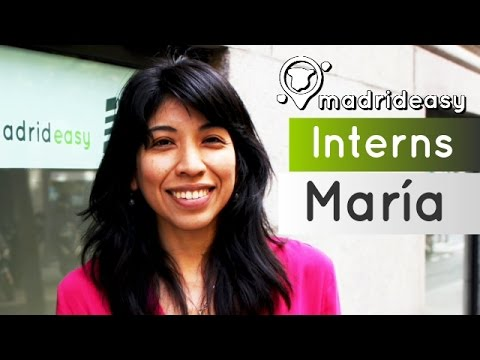Find out about María's from Argentina experience at MadridEasy | Interns