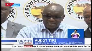 Thirdway Alliance Party leader Dr. Ekuru Aukot criticises President Uhuru Kenyatta's tax proposal