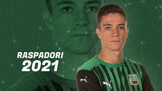 Giacomo Raspadori - Goals, Skills & Best Actions - 2021