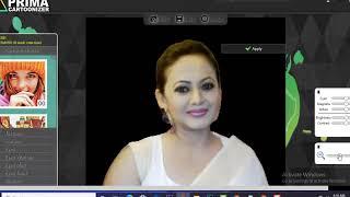 How to Convert Photos into Cartoon Effect - Actress Sreelekha Mitra Cartoon Photos- Sreelekha Mitra