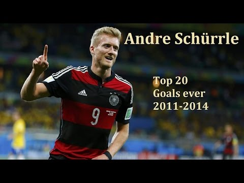 Andre Schürrle | Top 20 Goals ever | Magic Right Foot | 2011-2014 [HD]