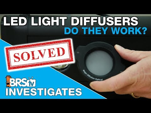 BRStv Investigates: Do LED light diffusers have a place in the reef tank?