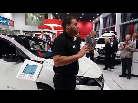 New Nissan Leaf 2.0 Introduction by Mark Connolly of Nissan UK