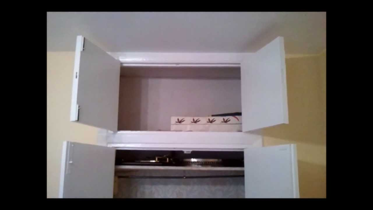 Lacar armario rodapie radiador pinturas urbano youtube - Restaurar armario ...