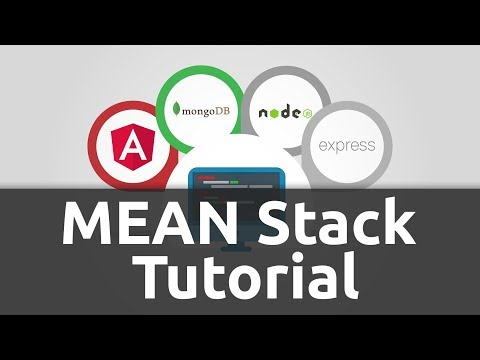 Angular - Node - MongoDB & Express (MEAN) Tutorial for Beginners