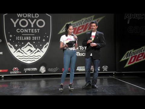 World YOYO contest 2017 Iceland  LIVE FEED  WILDCARD