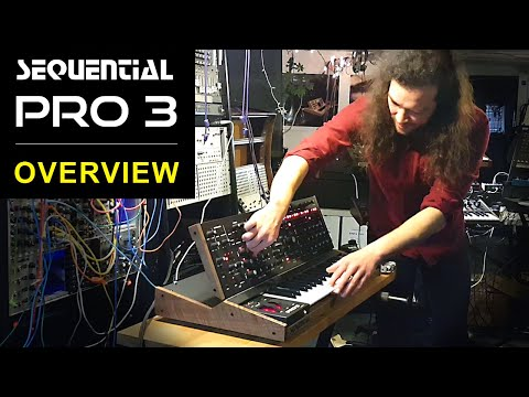 SEQUENTIAL PRO 3 - Overview & Synth Demo By Carson Day