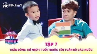 Little But Special | Ep 7: Child prodigy 4 years old remember all countries in the world