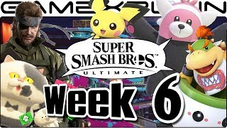 Smash Bros. Ultimate Update: Pichu, MGS3 Music, Moray Towers, Bewear, Bowser Jr, Sakurai (Week 6)
