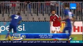 مساء الأنوار- باسم مرسي | محمد صلاح قال لى فى التغيير الثالث اطلع وريح رجلك علشان الإصابة
