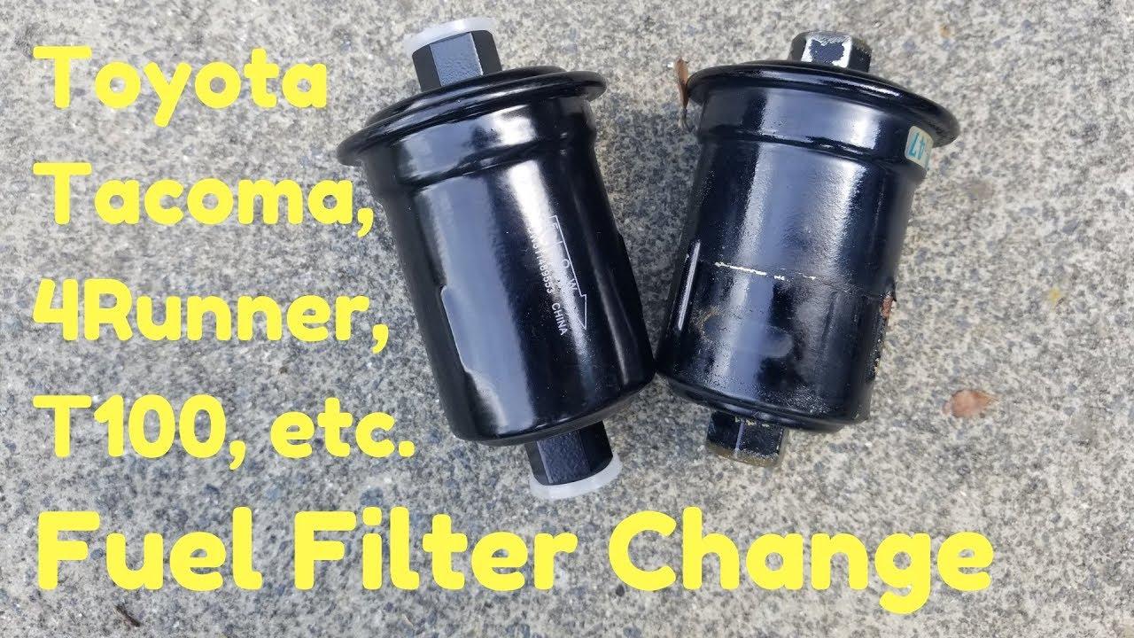 medium resolution of 3 4l dohc v6 fuel filter change toyota tacoma 4runner t100