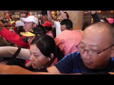台北市市長柯文哲蒞臨台中沙鹿義聖宮關聖帝君廟參香